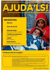 catalunya amb els refugiats